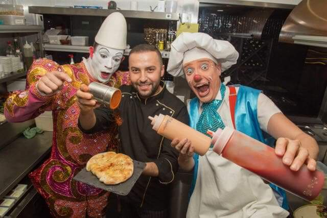 Chef Ahmet at private party in London