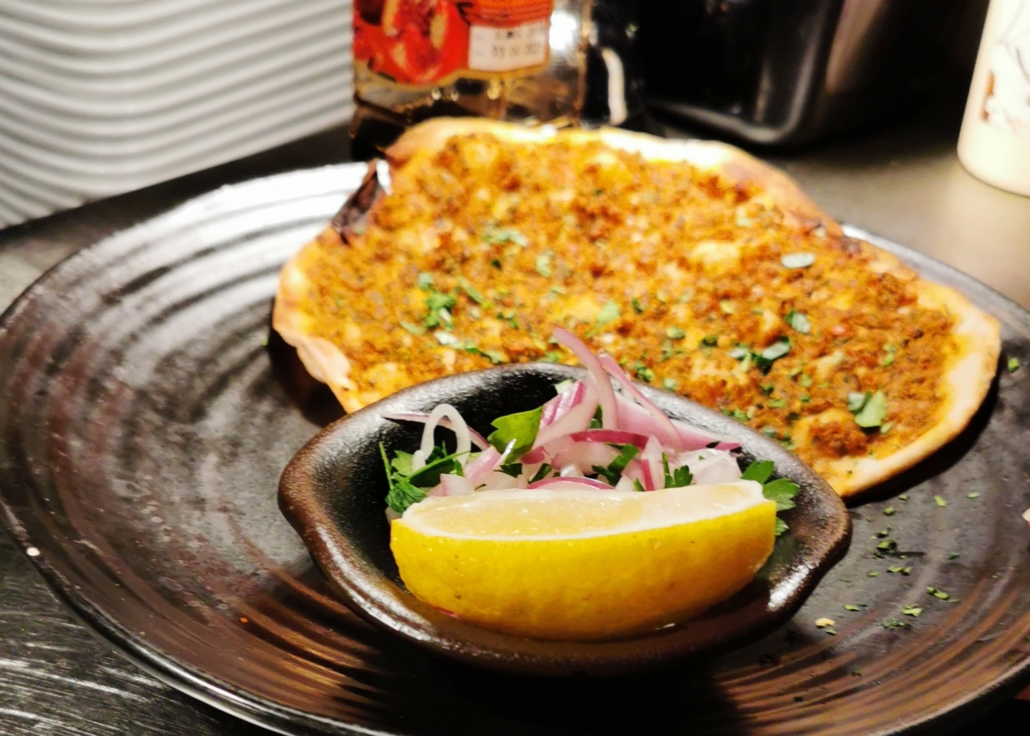 lahmacun/ Turkish Flatbread