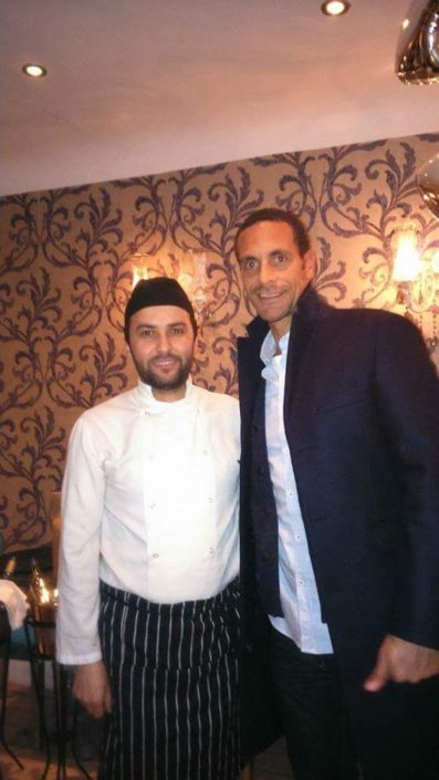Rio Ferdinand Birthday party Dinner, professional English footballer
